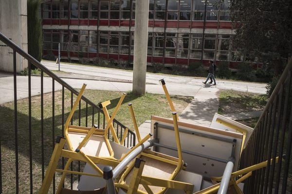 """Le blocage d'une partie de l'université """"Paul va"""" est maintenu."""