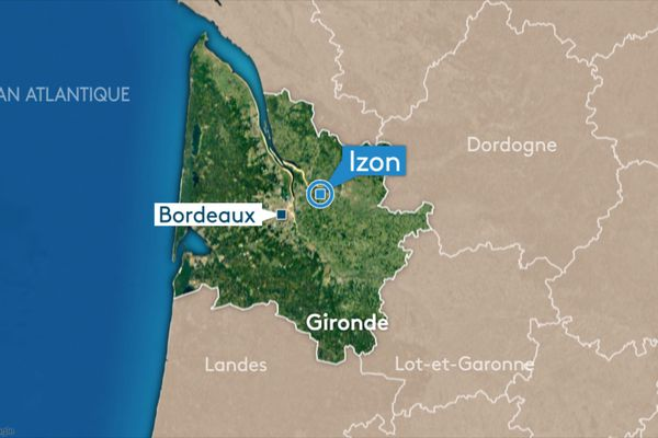 Un accident entre deux véhicules, dont une fourgonnette de la gendarmerie, est survenu la nuit dernière à Izon.