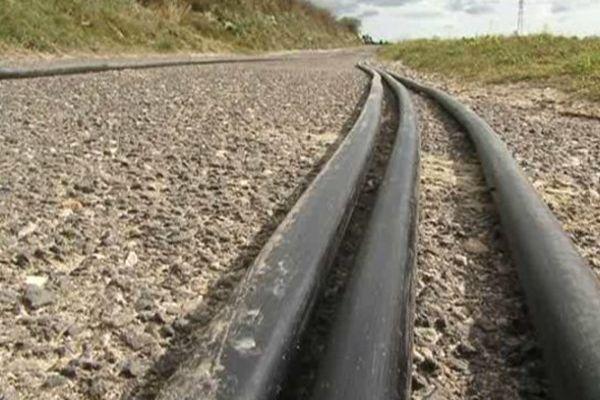 Les câbles détériorés ont été retrouvés à la sortie du village de Colombiers, près de Béziers