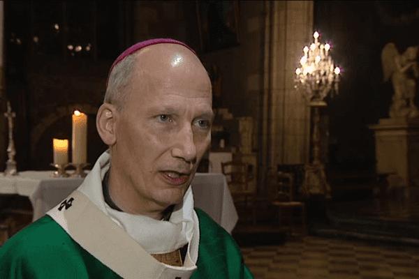Monseigneur d'Ornellas, archevêque de Rennes et aussi chargé de la bioéthique au sein de la Conférence des évêques de France