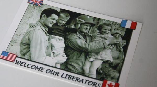 Sur cette photo prise par un correspondant de guerre, Georgette a 7 ans.