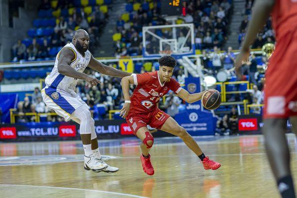 Killian Hayes sous les couleurs de Cholet Basket le 9 avril 2019