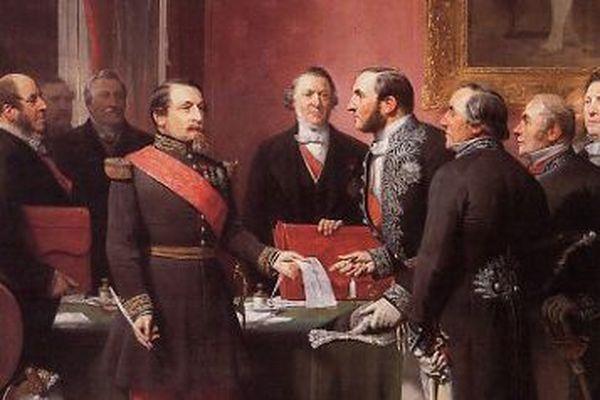 Napoléon III et Eugène Haussmann