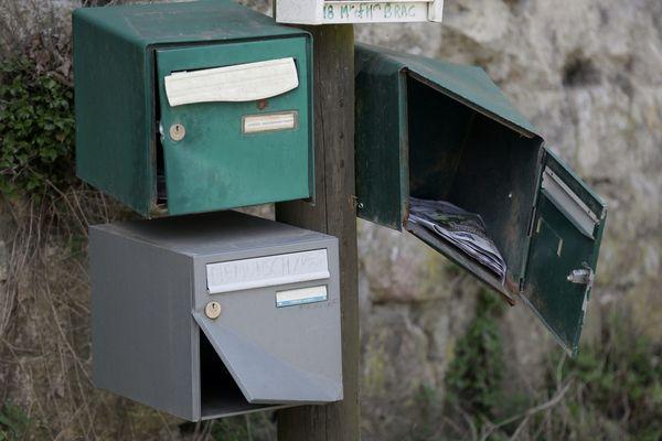 Des boites aux lettres à Goussainville, image d'illustration.