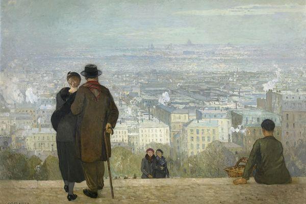 Paris vu du Sacré Coeur