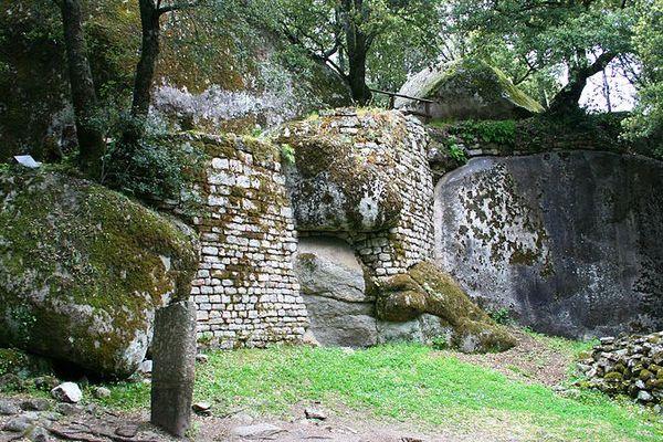 Le site archéologique de Cucuruzzu, en Corse du Sud, daté de l'Age du Bronze