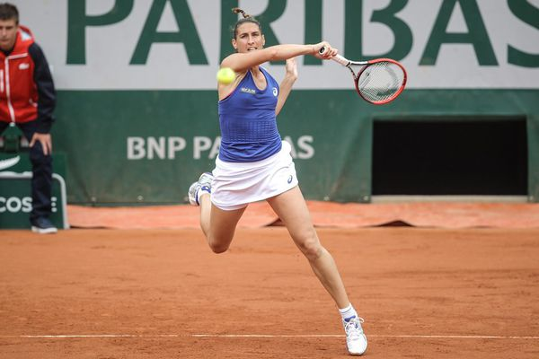 Virgnie Razzano à Roland Garros - 26 mai 2014