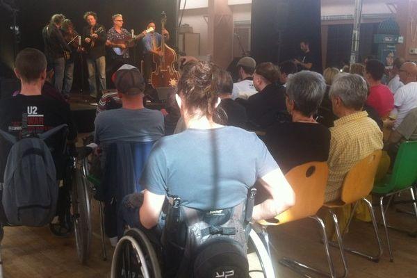 Concert à l'hôpital Henry Gabrielle, mercredi 2 octobre.
