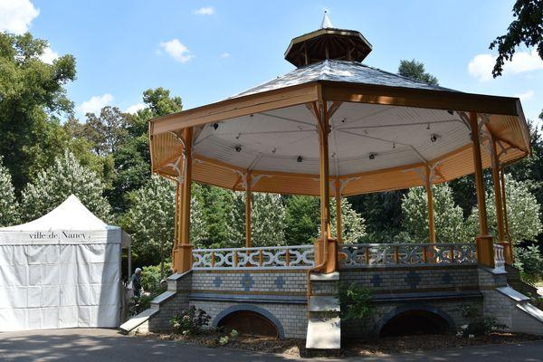 Le Facteur Musique, la Ville de Nancy et l'Autre Canal proposent des concerts tous les dimanches au Parc Sainte-Marie. Rendez-vous sous le kiosque.