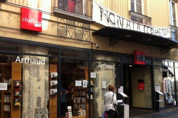 La librairie Arthaud de Grenoble, vieille de 200 ans