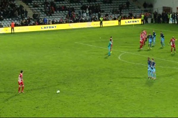 Nîmes Olympique Le Havre au stade des Costières