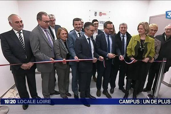 Inauguration du campus Sciences PO Lyon à Saint-Etienne - 4/12/17