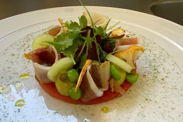 Wilfrid Chaplain, chef du Radio à Chamalières, près de Clermont-Ferrand, vous propose une salade de lentilles.