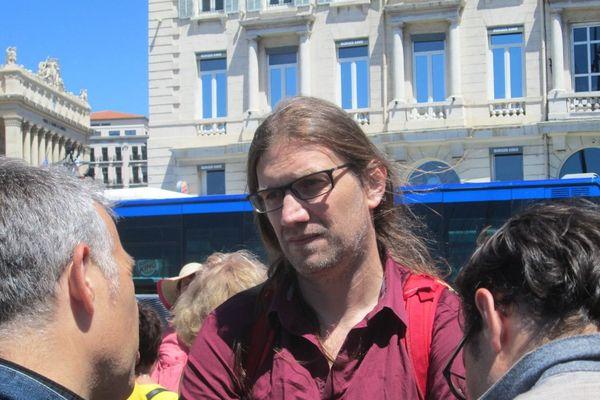 Hendrik Davi candidat FI dans la 5e circonscription des Bouches-du-Rhône