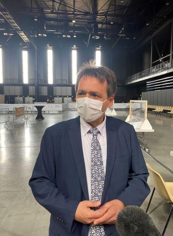 Philippe Blua, directeur des Hôpitaux Champagne Sud - Centre hospitalier de Troyes, actionnaire majoritaire du GCS Clinique Champagne.