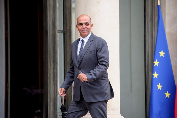 Kader Arif en octobre 2014 au palais de l'Elysée