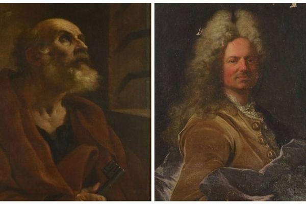 Plusieurs tableaux sont mis en vente aux enchères à Rennes dont le portrait Saint Pierre en prison par Le Guerchin et celui de Jean Martin de La Chapelle par Hyacinthe Rigaud