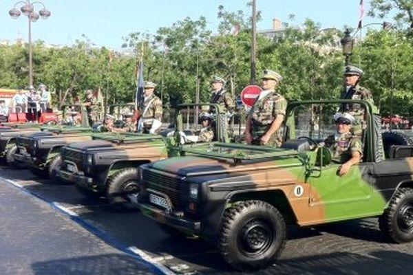 Les soldats de la brigade pétrolière interarmée de Chalon-sur-Saône