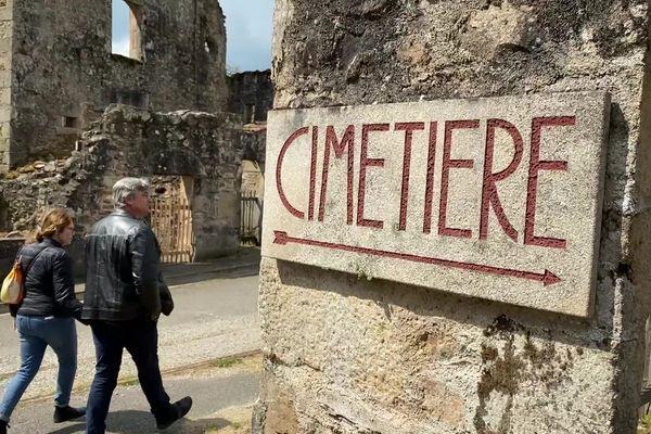 Le village martyr d'Oradour-sur-Glane reste ouvert aux visiteurs