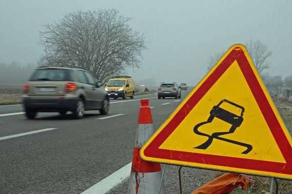 Attention, routes glissantes en Corrèze