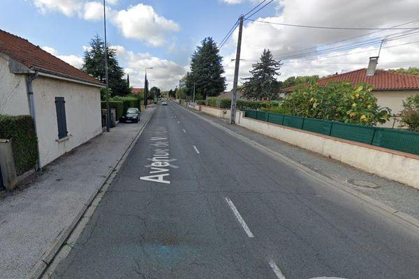 L'accident a eu lieu jeudi 11 février dans la matinée sur cet axe de la commune de Saint-Juéry dans le Tarn.