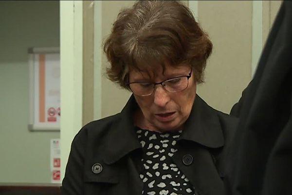 Procès de Jacques Rançon aux assises des Pyrénées-Orientales à Perpignan en mars 2018 - Conception Gonzalez, mère de la dernière victime, Marie-Hélène, 22 ans, tuée le 16 juin 1998.