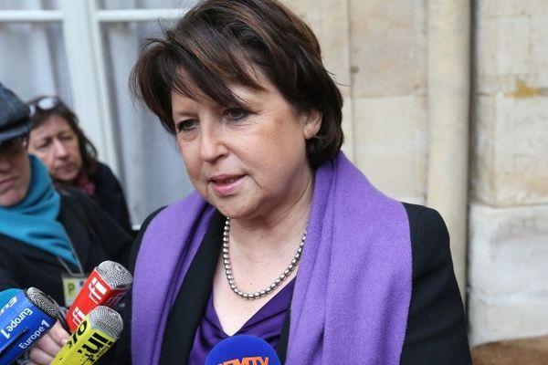 Martine Aubry, maire de Lille, en février 2013.