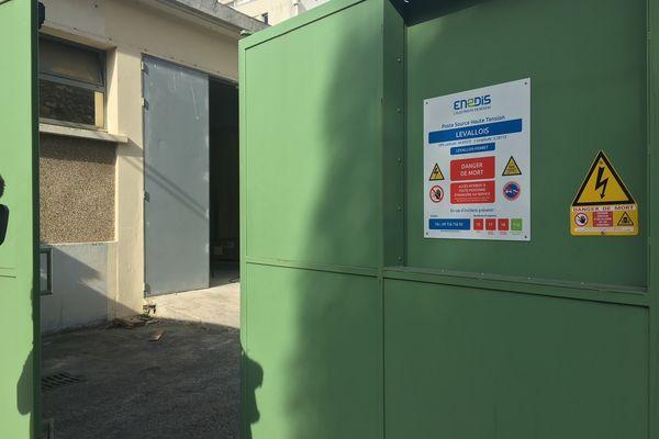 Un incendie à ravagé un poste électrique à Levallois-Perret dans les Hauts-de-Seine