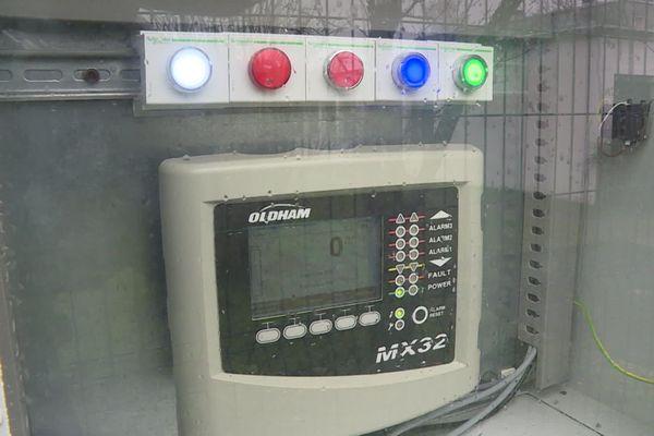 Un station de stockage de l'hydrogène dans un lycée de Dole dans le Jura.