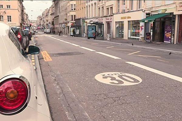La Ville de Nancy veut intensifier le passage en zones 30 km/h