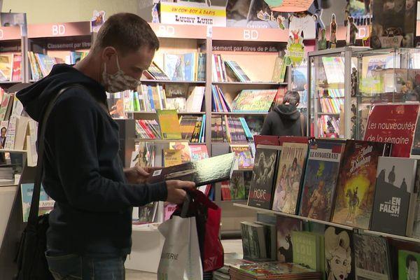 Le plaisir de retrouver sa librairie préférée après deux mois de confinement
