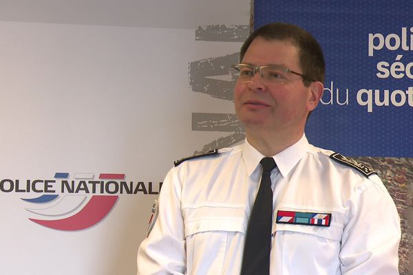 François Angelini, directeur départemental de la sécurité publique (DDSP)