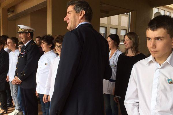 La première promotion de jeunes atteints d'autisme a reçu l'insigne de l'Ecole des pupilles de l'air (Isère).