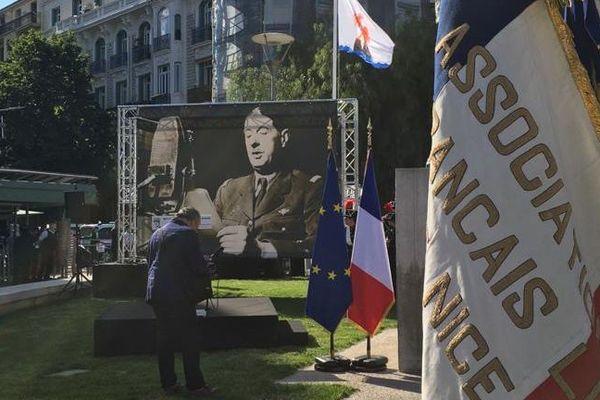 A Nice, Draguignan ou Toulon, le Général de Gaulle a marqué les esprits.