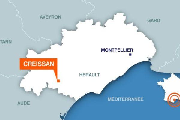 Creissan (Hérault)