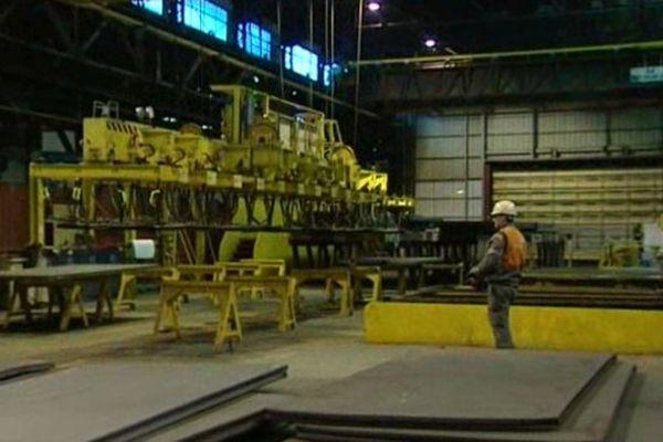 Usine Arcelor-Mittal au Creusot