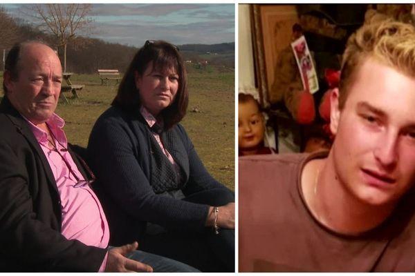 Les parents de Pierre, à gauche, regrettent le manque de connaissance du corps médical concernant la maladie de Lyme.