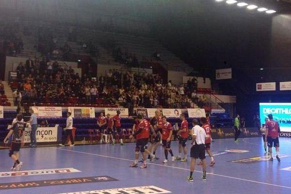 L'Entente Sportive Bisontine Masculine affrontait vendredi 17 octobre Valence Handball.