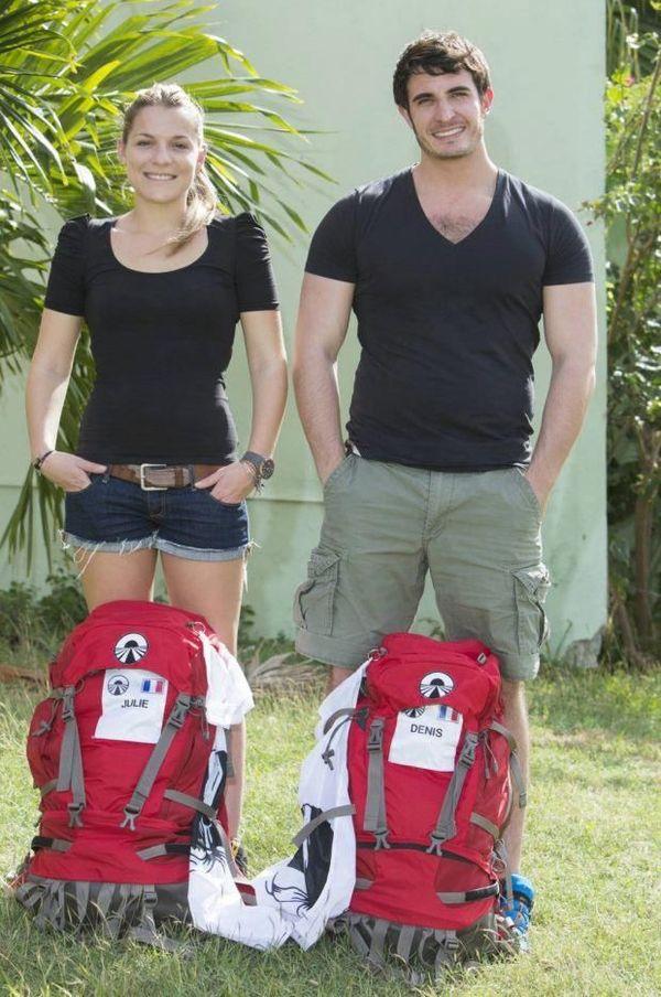Julie et Denis lors de leur première participation, en 2013