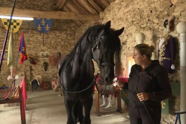 Katia Croset vous accueille à cheval ou à pied dans son nouveau musée.