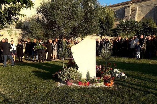 Cérémonie d'hommage aux victimes de l'accident de Puisseguin