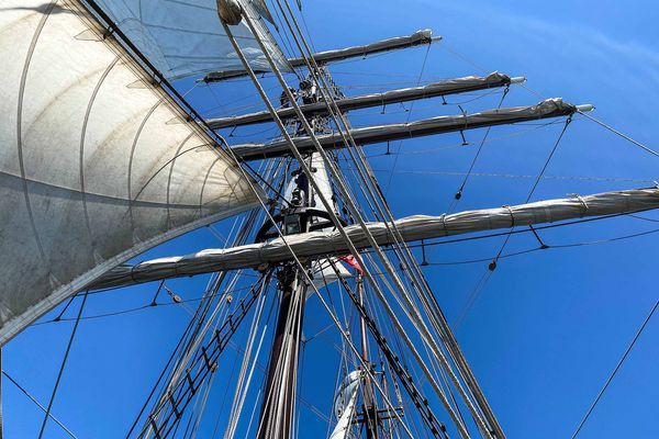 Portant le diminutif de Marie-Thérèse Le Borgne, fille de l'armateur et marraine du bateau, le Marité est lancé le 24 juin 1923, à Fécamp.