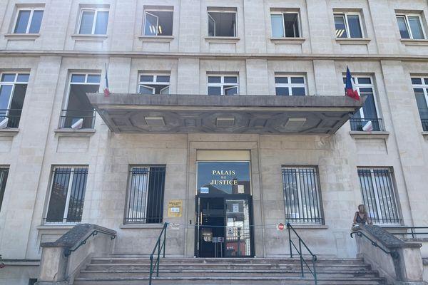Le palais de justice de Troyes, mardi 15 juin 2021