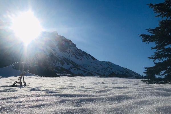 A Valloire, en Savoie, l'hiver semble sans fin...