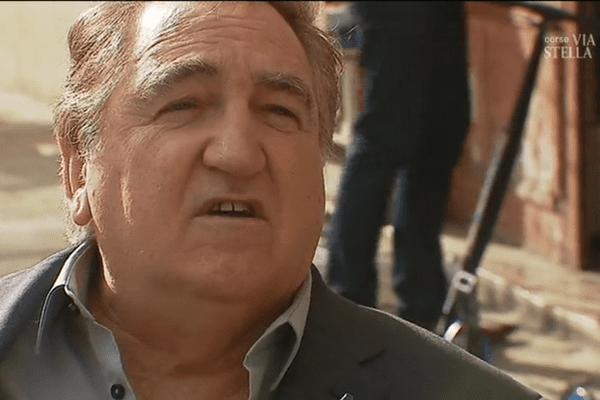 """Charles Giacomi , tête de liste """"Front National - Rassemblement pour une Corse républicaine"""" aux élections territoriales de décembre 2017"""