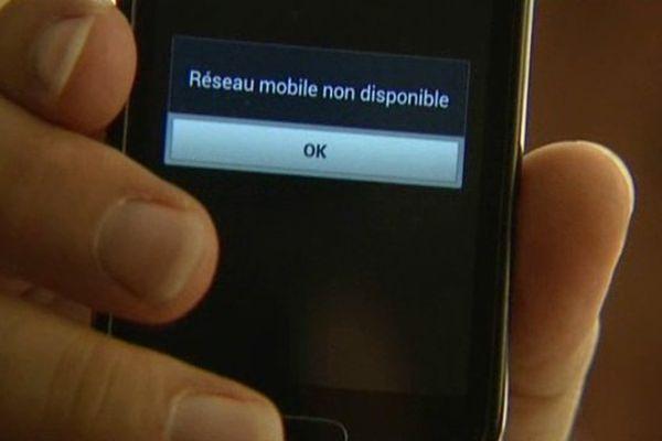 Le réseau mobile est très difficile d'accès à Chazelles (37)