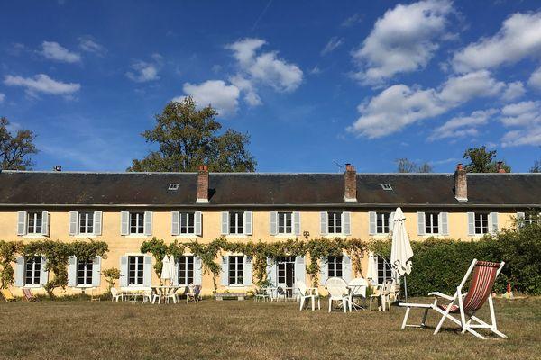 """Le phalanstère """"La Colonie"""", à Condé-sur-Vesgre, dans les Yvelines."""