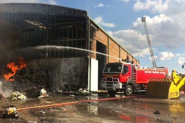 Incendie de la déchèterie de Quissac Gard