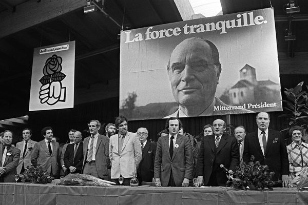 Le 8 mai 1981 à Épinal.
