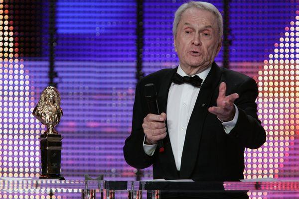 Robert Hirsch reçoit le Molière d'interprétation en 2007